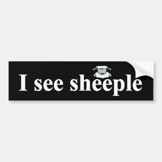 Pegatina Para Coche Veo el sheeple