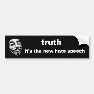 Pegatina Para Coche verdad