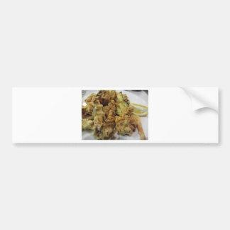 Pegatina Para Coche Verduras crujientes empanadas y fritas con el