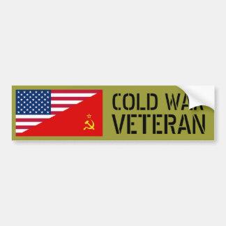 Pegatina Para Coche Veterano de guerra fría