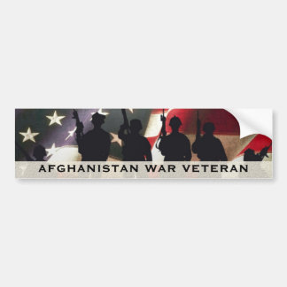 Pegatina Para Coche Veterano de guerra militar Afganistán