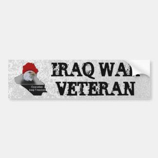 Pegatina Para Coche Veterano de los militares del veterano de guerra