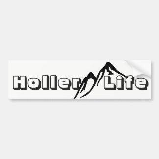 Pegatina Para Coche Vida de la montaña de la vida del Holler