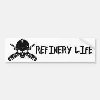 Pegatina Para Coche Vida de la refinería