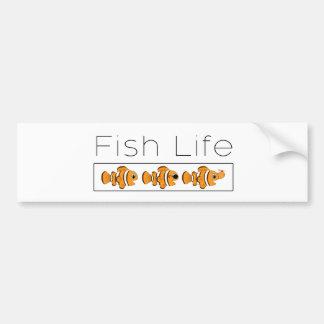 Pegatina Para Coche Vida de los pescados