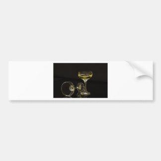 Pegatina Para Coche vidrios del champán