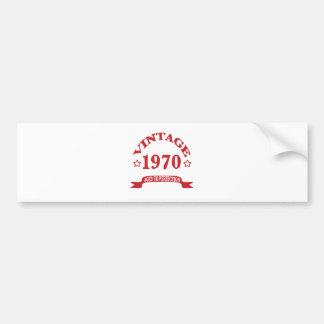 Pegatina Para Coche Vintage 1970 envejecido a Paerfection