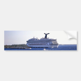 Pegatina Para Coche Visitante del barco de cruceros de Cozumel