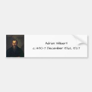Pegatina Para Coche Willaert de Adrian