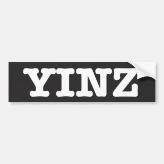 Pegatina Para Coche Yinz -