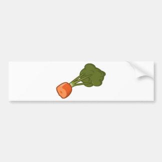 Pegatina Para Coche Zanahoria mordida