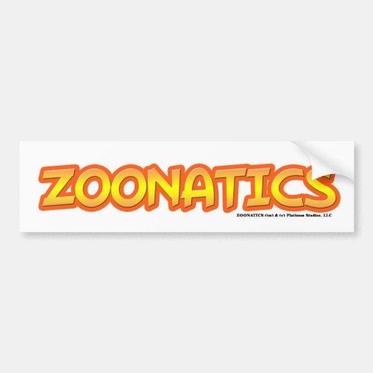 Pegatina Para Coche Zoonatics - estudios del platino