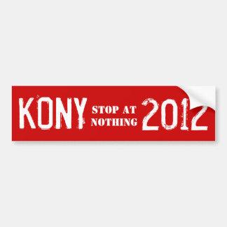 Pegatina para el parachoques 2012 de Kony Pegatina Para Coche