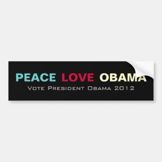 Pegatina para el parachoques 2012 de la campaña de etiqueta de parachoque