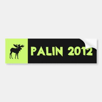 Pegatina para el parachoques 2012 de Palin Etiqueta De Parachoque