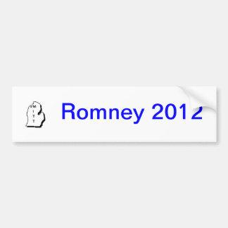 Pegatina para el parachoques 2012 de Romney Pegatina Para Coche