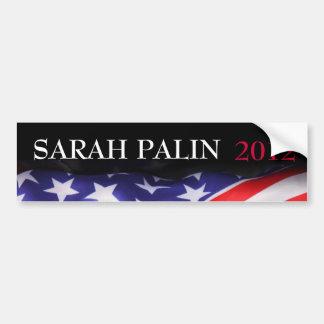 Pegatina para el parachoques 2012 de SARAH PALIN d Etiqueta De Parachoque