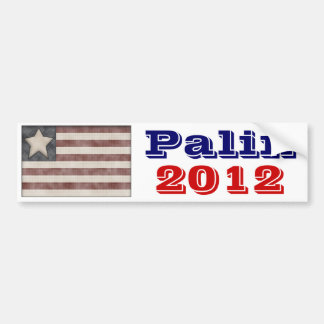 Pegatina para el parachoques 2012 de Sarah Palin Pegatina De Parachoque