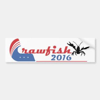 Pegatina para el parachoques 2016 de los cangrejos