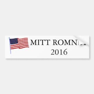 Pegatina para el parachoques 2016 de Mitt Romney