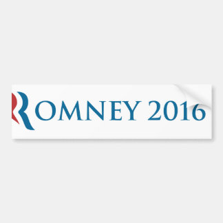 Pegatina para el parachoques 2016 de Romney