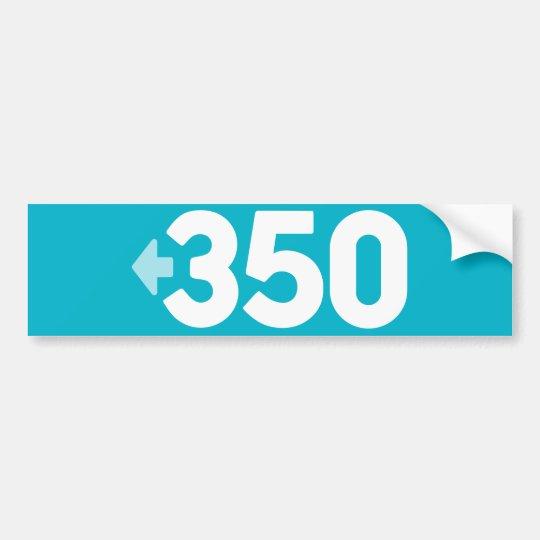Pegatina para el parachoques 350