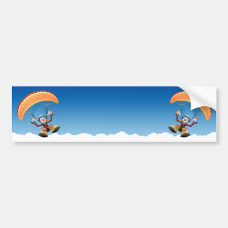 Pegatina para el parachoques adaptable del ala fle pegatina de parachoque