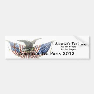 Pegatina para el parachoques americana 2012 de la  pegatina para coche