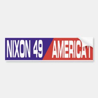 Pegatina para el parachoques anti 1969 de Nixon de Pegatina Para Coche