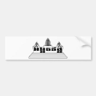 Pegatina para el parachoques de Angkor Wat Pegatina Para Coche