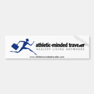 Pegatina para el parachoques de AthleticMindedTrav Pegatina Para Coche