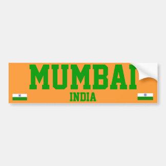 Pegatina para el parachoques de Bombay
