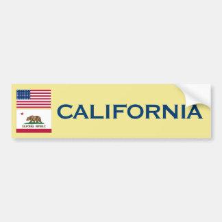 Pegatina para el parachoques de California