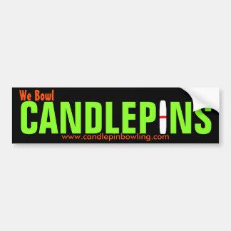Pegatina para el parachoques de Candlepin