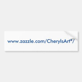 Pegatina para el parachoques de CherylsArt Pegatina Para Coche