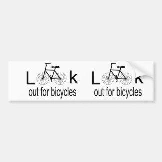 Pegatina para el parachoques de ciclo pegatina para coche
