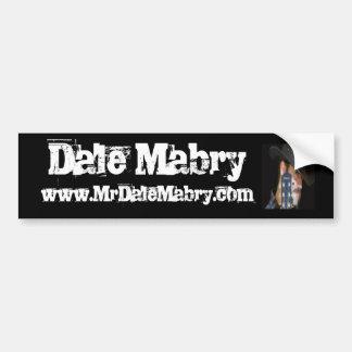 Pegatina para el parachoques de Dale Mabry