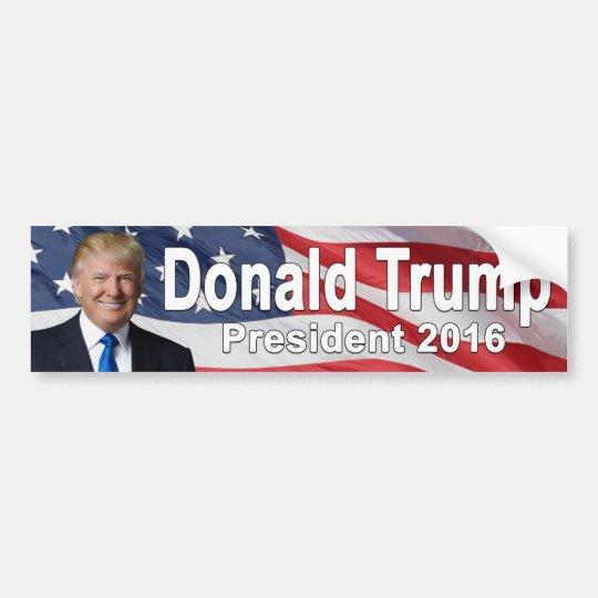 Pegatina para el parachoques de Donald Trump