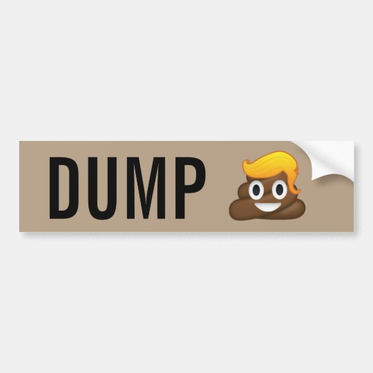 Pegatina para el parachoques de Emoji del impulso
