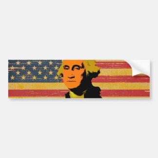 Pegatina para el parachoques de George Washington