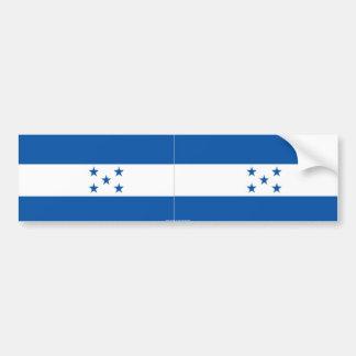 Pegatina para el parachoques de Honduras Pegatina Para Coche