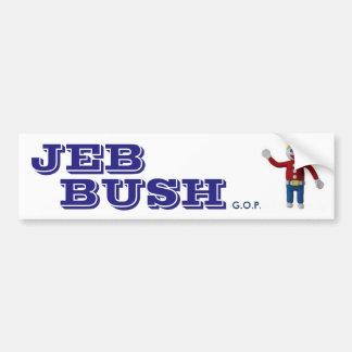 Pegatina para el parachoques de JEB BUSH Pegatina Para Coche