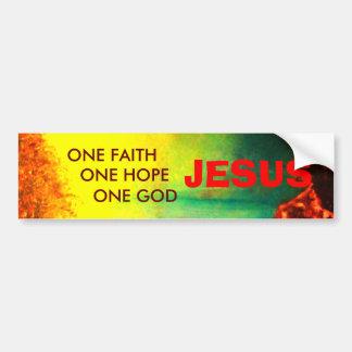 Pegatina para el parachoques de JESÚS