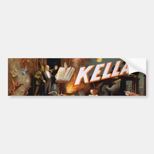 Pegatina para el parachoques de Kellar Pegatina Para Coche