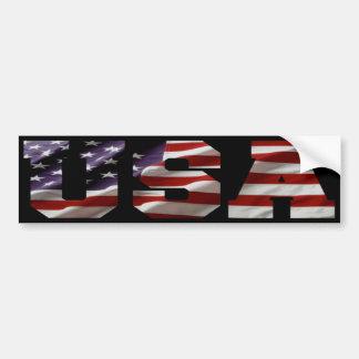 Pegatina para el parachoques de la bandera america pegatina de parachoque