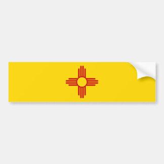 Pegatina para el parachoques de la bandera de New