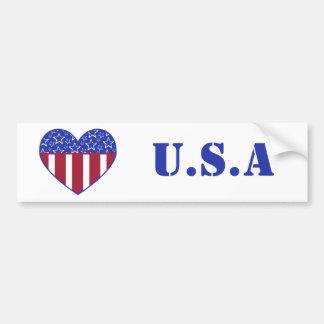Pegatina para el parachoques de la bandera del
