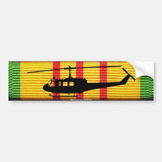 Pegatina para el parachoques de la cinta de UH-1