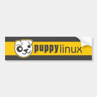 Pegatina para el parachoques de Linux del perrito Pegatina Para Coche