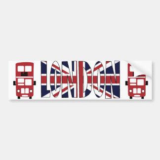 Pegatina para el parachoques de LONDRES del